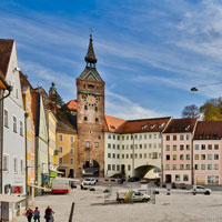 Hauptplatz in Landsberg © day & light