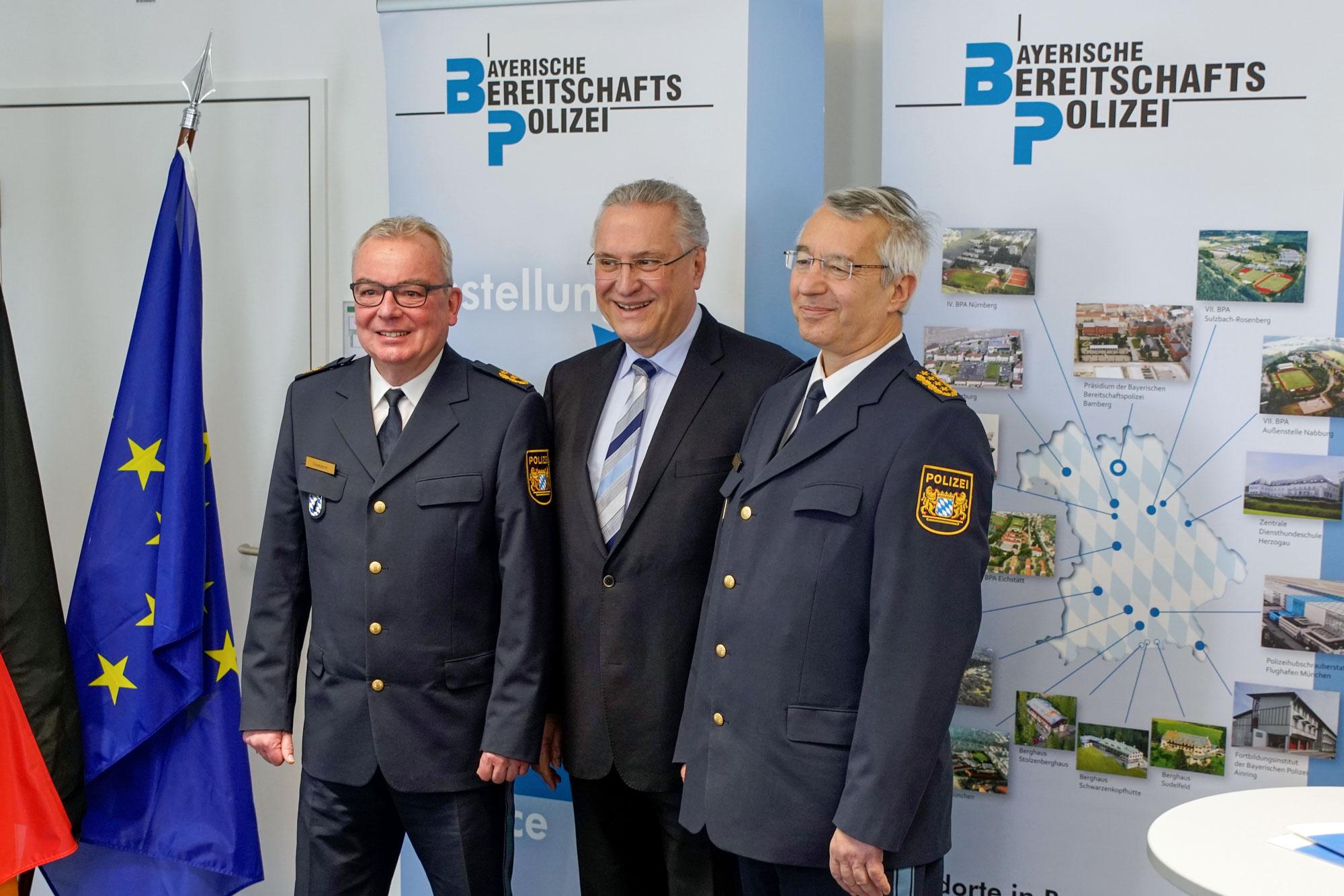 einstellung bayerische polizei